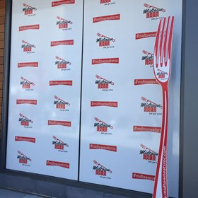 Window Graphics For a Restaurants rochester ny
