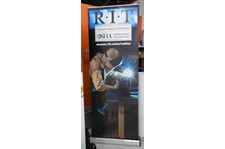 Retractable Banner For Trades Organization rochester ny