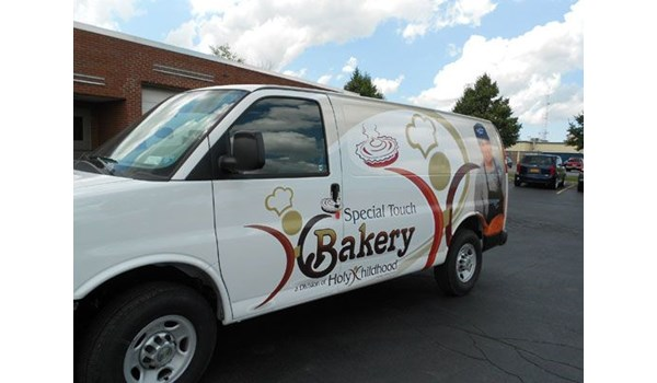 Nonprofit vehicle wrap design and installation Henrietta NY